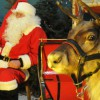 Zagroda reniferów św. Mikołaja