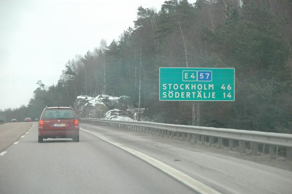 Sztokholm niedaleko - to po?owa pierwszego dnia podr?y